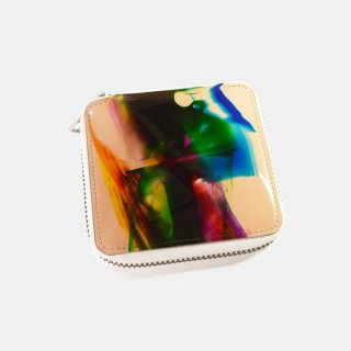 macromauro<br>paint tanned folio wallet(D)