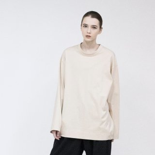 VOAAOV<br>Seasonless Cotton Jersey WARP TOPS<img class='new_mark_img2' src='https://img.shop-pro.jp/img/new/icons2.gif' style='border:none;display:inline;margin:0px;padding:0px;width:auto;' />