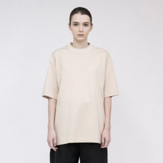 VOAAOV<br>Seasonless Cotton Jersey Basic Tee