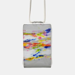 macromauro<br>SHOULDER WALLET / paint gray(D)<img class='new_mark_img2' src='https://img.shop-pro.jp/img/new/icons2.gif' style='border:none;display:inline;margin:0px;padding:0px;width:auto;' />
