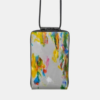 macromauro<br>SHOULDER WALLET / paint gray(H)<img class='new_mark_img2' src='https://img.shop-pro.jp/img/new/icons2.gif' style='border:none;display:inline;margin:0px;padding:0px;width:auto;' />