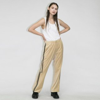 my beautiful landlet<br>SOFT VELOR LINE PANTS<img class='new_mark_img2' src='https://img.shop-pro.jp/img/new/icons2.gif' style='border:none;display:inline;margin:0px;padding:0px;width:auto;' />