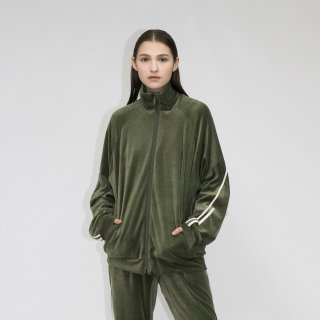 my beautiful landlet<br>SOFT VELOR TRACKJACKET<img class='new_mark_img2' src='https://img.shop-pro.jp/img/new/icons2.gif' style='border:none;display:inline;margin:0px;padding:0px;width:auto;' />
