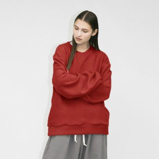 my beautiful landlet<br>PILE NAPPING BRUSHED SWEATSHIRT<img class='new_mark_img2' src='https://img.shop-pro.jp/img/new/icons2.gif' style='border:none;display:inline;margin:0px;padding:0px;width:auto;' />