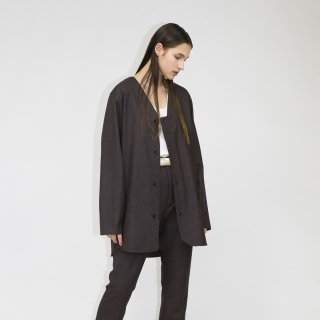 my beautiful landlet<br>WOOL SERGE V-NECK SHIRT<img class='new_mark_img2' src='https://img.shop-pro.jp/img/new/icons2.gif' style='border:none;display:inline;margin:0px;padding:0px;width:auto;' />
