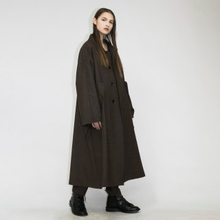 my beautiful landlet<br>WOOL SERGE LONG COAT<img class='new_mark_img2' src='https://img.shop-pro.jp/img/new/icons2.gif' style='border:none;display:inline;margin:0px;padding:0px;width:auto;' />
