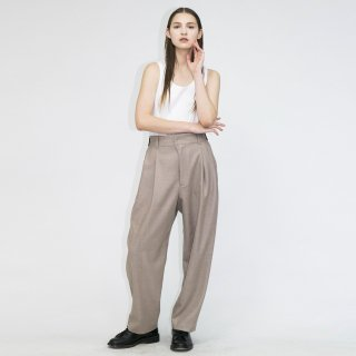 my beautiful landlet<br>AUSTRALIA FLANNEL TUCK PANTS<img class='new_mark_img2' src='https://img.shop-pro.jp/img/new/icons2.gif' style='border:none;display:inline;margin:0px;padding:0px;width:auto;' />
