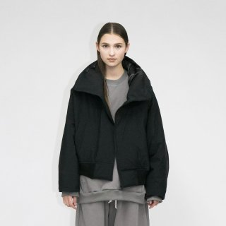my beautiful landlet<br>DIVER CROSS DOWN HOODED BLOUSON<img class='new_mark_img2' src='https://img.shop-pro.jp/img/new/icons2.gif' style='border:none;display:inline;margin:0px;padding:0px;width:auto;' />