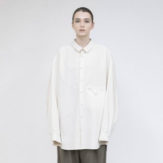 VOAAOV<br>Organic Cotton Broad Big shirt<img class='new_mark_img2' src='https://img.shop-pro.jp/img/new/icons2.gif' style='border:none;display:inline;margin:0px;padding:0px;width:auto;' />