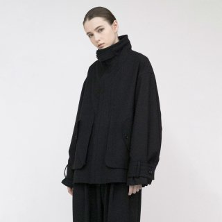 VOAAOV<br>Vintage Wool Wide Blouson<img class='new_mark_img2' src='https://img.shop-pro.jp/img/new/icons2.gif' style='border:none;display:inline;margin:0px;padding:0px;width:auto;' />