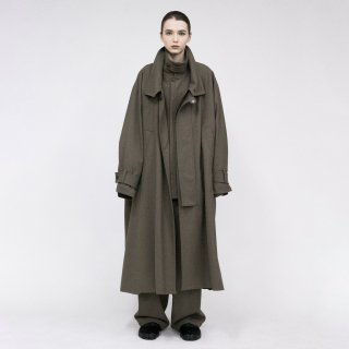 VOAAOV<br>Vintage Wool Wide Long Coat<img class='new_mark_img2' src='https://img.shop-pro.jp/img/new/icons2.gif' style='border:none;display:inline;margin:0px;padding:0px;width:auto;' />