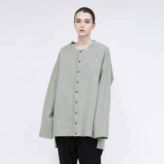 VOAAOV<br>Wool Ring Jersey Cardigan