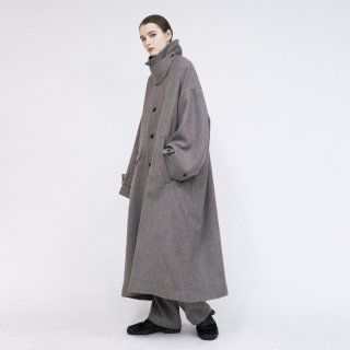 VOAAOV<br>Soft Wool Twill Long Coat<img class='new_mark_img2' src='https://img.shop-pro.jp/img/new/icons2.gif' style='border:none;display:inline;margin:0px;padding:0px;width:auto;' />