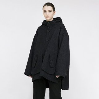VOAAOV<br>Yabure Oil Cut Wool Mountain parka<img class='new_mark_img2' src='https://img.shop-pro.jp/img/new/icons2.gif' style='border:none;display:inline;margin:0px;padding:0px;width:auto;' />