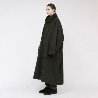 VOAAOV<br>Yabure Oil Cut Wool Stand Coat<img class='new_mark_img2' src='https://img.shop-pro.jp/img/new/icons2.gif' style='border:none;display:inline;margin:0px;padding:0px;width:auto;' />