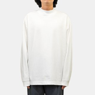 ATON<br>SUVIN AIR SPINNING MOCK-NECK PULLOVER