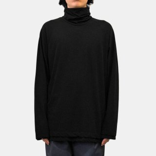 ATON<br>FRESCA LAYERED HIGHNECK PULLOVER<img class='new_mark_img2' src='https://img.shop-pro.jp/img/new/icons2.gif' style='border:none;display:inline;margin:0px;padding:0px;width:auto;' />