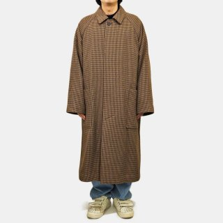 ATON<br>CAMEL HOUNDS TOOTH BALMACAAN COAT<img class='new_mark_img2' src='https://img.shop-pro.jp/img/new/icons2.gif' style='border:none;display:inline;margin:0px;padding:0px;width:auto;' />