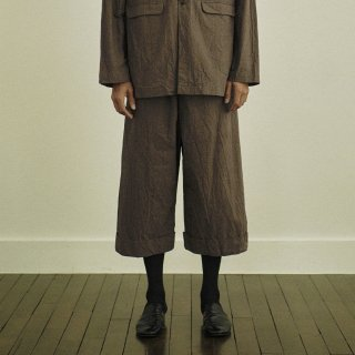 YOKO SAKAMOTO<br>POTTER TROUSERS BAGGY<img class='new_mark_img2' src='https://img.shop-pro.jp/img/new/icons2.gif' style='border:none;display:inline;margin:0px;padding:0px;width:auto;' />
