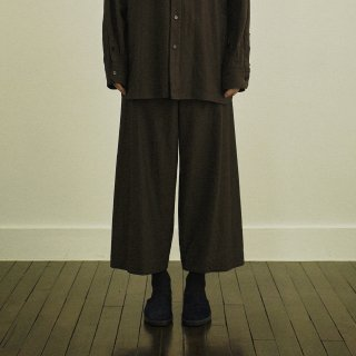 YOKO SAKAMOTO<br>ATELIER TROUSERS BAGGY<img class='new_mark_img2' src='https://img.shop-pro.jp/img/new/icons2.gif' style='border:none;display:inline;margin:0px;padding:0px;width:auto;' />