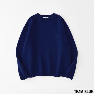 STUDIO NICHOLSON<br>ENGLISH LAMBSWOOL 5GG GUERNSEY JUMPER<img class='new_mark_img2' src='https://img.shop-pro.jp/img/new/icons2.gif' style='border:none;display:inline;margin:0px;padding:0px;width:auto;' />