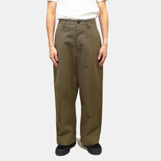 STUDIO NICHOLSON<br>PEACHED COTTON TWIL WIDE LEG SKATER<img class='new_mark_img2' src='https://img.shop-pro.jp/img/new/icons2.gif' style='border:none;display:inline;margin:0px;padding:0px;width:auto;' />