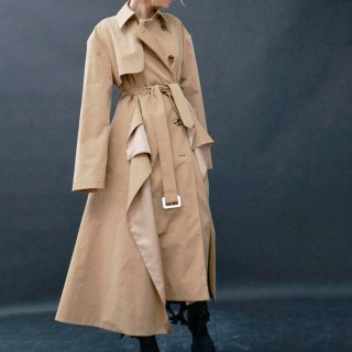 A.W.A.K.E  MODE<br>DECONSTRUCTED MULTILAYERED TRENCH COAT<img class='new_mark_img2' src='https://img.shop-pro.jp/img/new/icons2.gif' style='border:none;display:inline;margin:0px;padding:0px;width:auto;' />