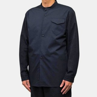 ohta<br>navy 2tone shirts<img class='new_mark_img2' src='https://img.shop-pro.jp/img/new/icons2.gif' style='border:none;display:inline;margin:0px;padding:0px;width:auto;' />