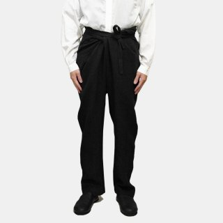 COSMIC WONDER<br> Linen canvas wrapped pants<img class='new_mark_img2' src='https://img.shop-pro.jp/img/new/icons2.gif' style='border:none;display:inline;margin:0px;padding:0px;width:auto;' />