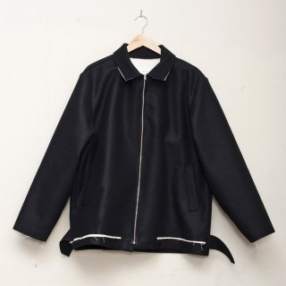 CAMIEL FORTGENS<br>Simple jacket wool woven felt<img class='new_mark_img2' src='https://img.shop-pro.jp/img/new/icons2.gif' style='border:none;display:inline;margin:0px;padding:0px;width:auto;' />