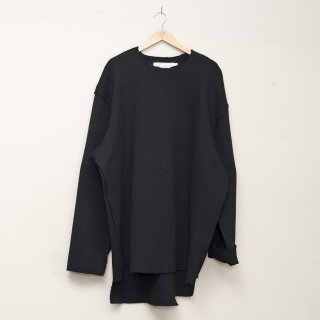 CAMIEL FORTGENS<br>Heavy rib jumper polyester knit<img class='new_mark_img2' src='https://img.shop-pro.jp/img/new/icons2.gif' style='border:none;display:inline;margin:0px;padding:0px;width:auto;' />