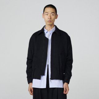 STUDIO NICHOLSON<br>FELTED FINE WOOL MENS WOOL BOMBER<img class='new_mark_img2' src='https://img.shop-pro.jp/img/new/icons2.gif' style='border:none;display:inline;margin:0px;padding:0px;width:auto;' />