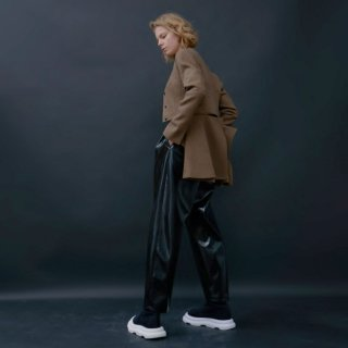 A.W.A.K.E  MODE<br>COLLARLESS JACKET<img class='new_mark_img2' src='https://img.shop-pro.jp/img/new/icons2.gif' style='border:none;display:inline;margin:0px;padding:0px;width:auto;' />