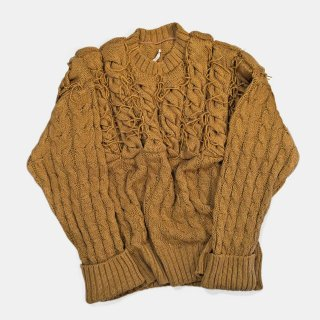 Re:quaL≡<br>3D cable knit pullover<br>Wallace & Murron Limited Edition<img class='new_mark_img2' src='https://img.shop-pro.jp/img/new/icons2.gif' style='border:none;display:inline;margin:0px;padding:0px;width:auto;' />
