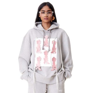 Dhruv Kapoor<br>PATECHED HOODIE<img class='new_mark_img2' src='https://img.shop-pro.jp/img/new/icons2.gif' style='border:none;display:inline;margin:0px;padding:0px;width:auto;' />