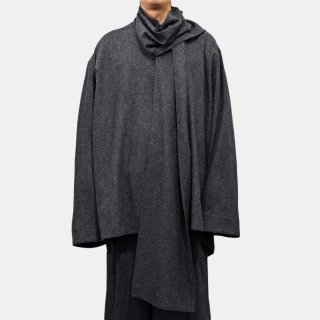 HED MAYNER<br>SCALF COLLAR SHIRT<img class='new_mark_img2' src='https://img.shop-pro.jp/img/new/icons2.gif' style='border:none;display:inline;margin:0px;padding:0px;width:auto;' />