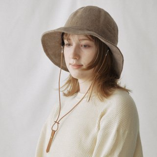 Nine Tailor<br>Shaggy Solid Hat<img class='new_mark_img2' src='https://img.shop-pro.jp/img/new/icons2.gif' style='border:none;display:inline;margin:0px;padding:0px;width:auto;' />