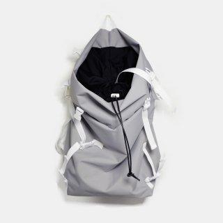 macromauro<br>kaos polyester(GREY)※在庫有り