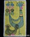 1960年アルメダールス製タペストリー 黄色地・