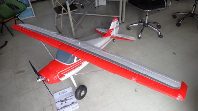 "<img class='new_mark_img1' src='https://img.shop-pro.jp/img/new/icons17.gif' style='border:none;display:inline;margin:0px;padding:0px;width:auto;' />87""Cessna170 3D 6Sリポ付 送受信機レス 新同品画像1"