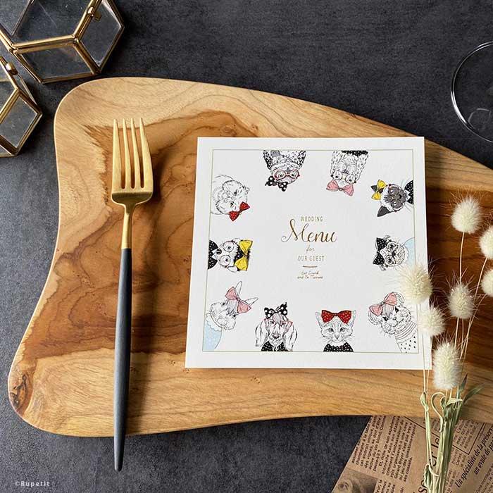 Animal Girls menu
