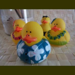 rubber duck luau hawaiian zakka crafts linolino aloha
