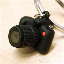LED シングルレンズ レフレックスカメラ キーリング