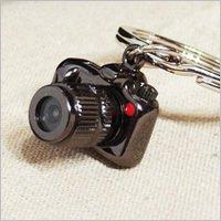 LED カメラ キーリング ガンメタル