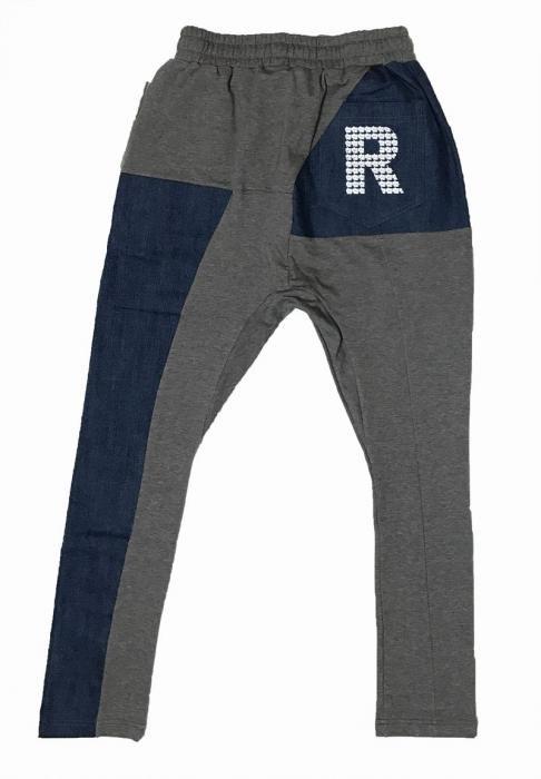 RM×IL デニム切替パンツ