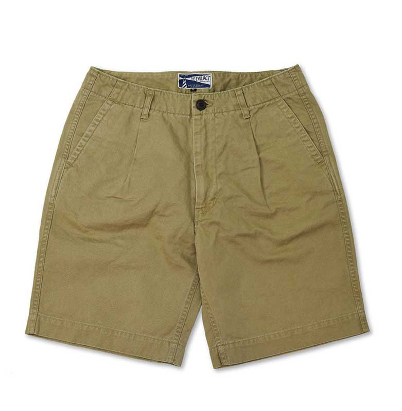 EVILACT One tuck shorts