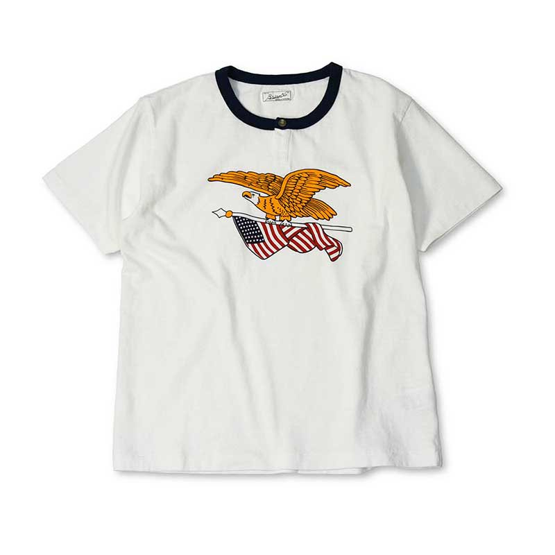 BRIAM MEANS Co.  E.F. Henley Tee ss<img class='new_mark_img2' src='//img.shop-pro.jp/img/new/icons18.gif' style='border:none;display:inline;margin:0px;padding:0px;width:auto;' />