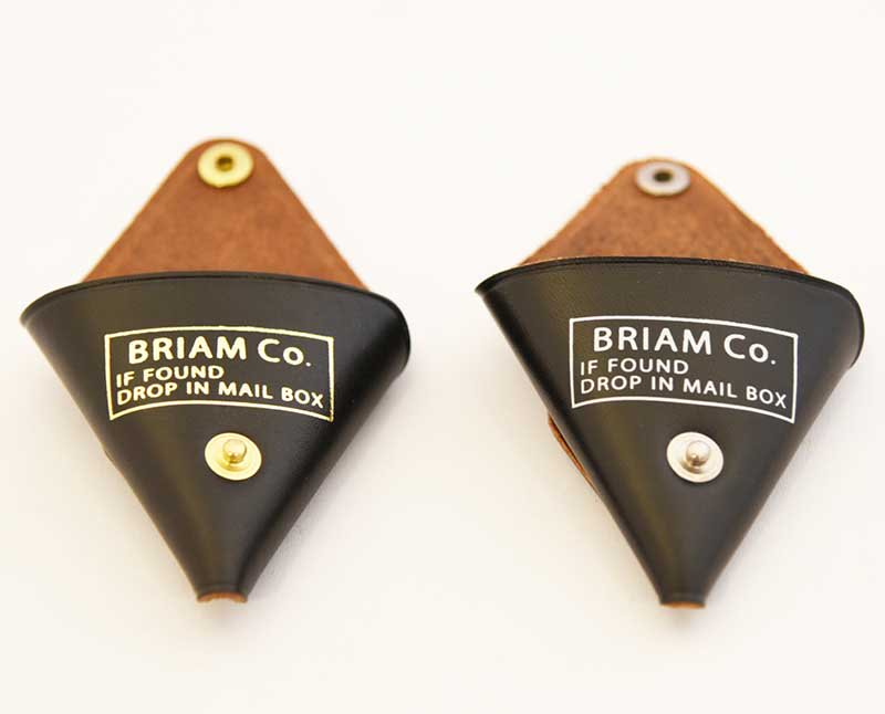 BRIAM MEANS Co.  Leather Coin Case