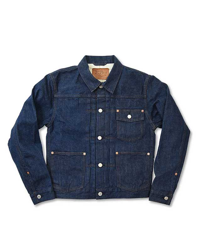 BRIAM MEANS Co.  BWR Denim Jacket<img class='new_mark_img2' src='//img.shop-pro.jp/img/new/icons18.gif' style='border:none;display:inline;margin:0px;padding:0px;width:auto;' />