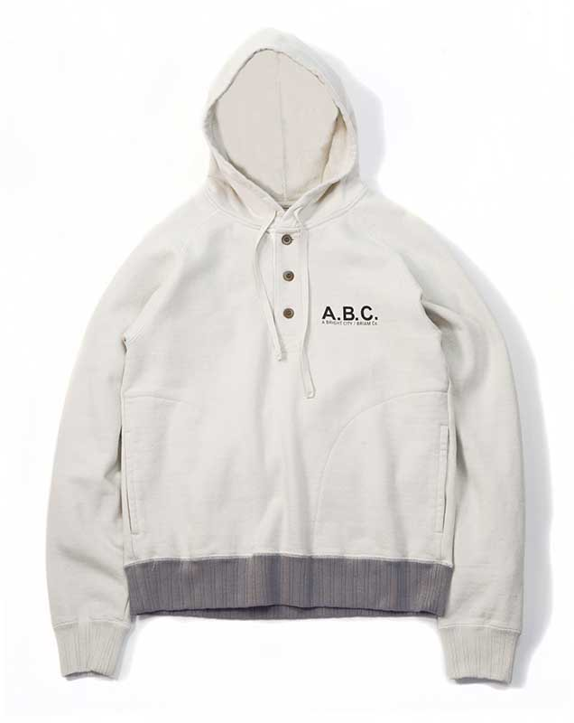 BRIAM MEANS Co.  A.B.C. Pull-over Hoodie Sweat<img class='new_mark_img2' src='//img.shop-pro.jp/img/new/icons18.gif' style='border:none;display:inline;margin:0px;padding:0px;width:auto;' />